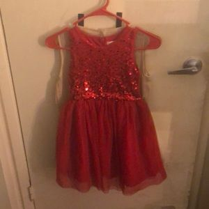 Size 6x girls red dress